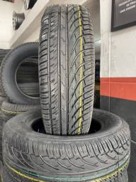 Título do anúncio: (02) pneus tekys tyres 185/70/14 instalados