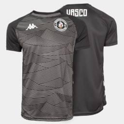 Camisa Oficial Vasco Aquecimento 2020/21 Kappa Masculina