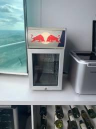 Mini Geladeira Red Bull