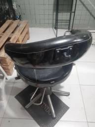 Cadeira hidráulica,para barbearia e salão