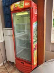 Refrigerador expositor cooler vertical cervejeira