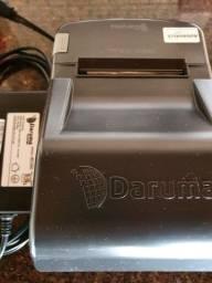 Título do anúncio: Impressora Térmica, não fiscal Daruma dr800H, semi nova, 500