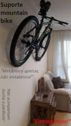 Título do anúncio: Suporte Bicicleta Horizontal parede