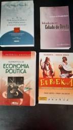 Título do anúncio: Doação de livros da faculdade de direito