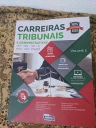 Livro Carreiras Tribunais e Administrativas