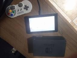 Nintendo switch SX OS 32gb sd diversos jogos
