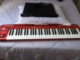Título do anúncio: Módulo jv 880 e teclado controlador