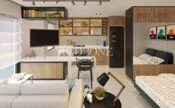 Apartamento à venda com 1 dormitórios em Campo comprido, Curitiba cod:AP0260