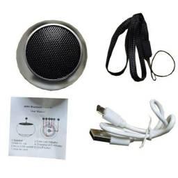 Caixinha Som Bluetooth Tws Metal Mini Speaker Amplificada 3w