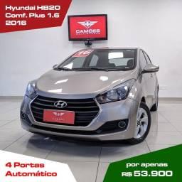 Hyundai HB20 Comfort 1.6 Automático