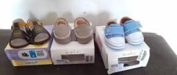 Sapato pra Bebê / os 3 por $100