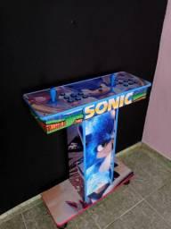 Fliperama portátil com pedestal 10x 115.00
