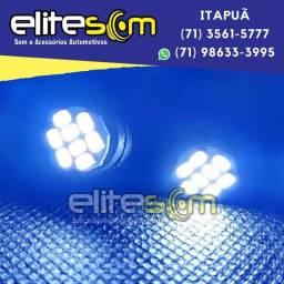 Lâmpada Pingo 8 leds instalada na Elite Som