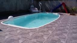 Linda casa com 4 dorms, piscina, 4 vagas em Maranduba Ubatuba
