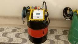 Kit de abastecimento elétrico para óleo lubrificante até sae 90
