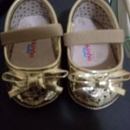 Sapato Molekinha bebê nº1