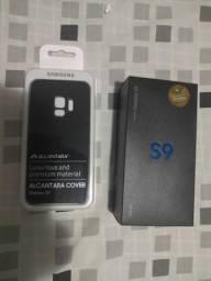Samsung Galaxy S9 128Gb Azul + Capa Alcantara Original