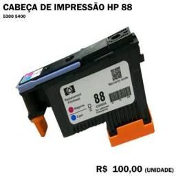 Cabeça de Impressão HP88 5300 5400 Magenta Cyan
