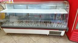 Balcão vitrine refrigerada expositor bebidas