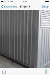 Container dry obra ou moradia