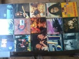 Varios discos de ld com musicas internacionais