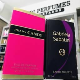 Perfume Gabriela Sabatini 100ml ou Prada Candy 100ml