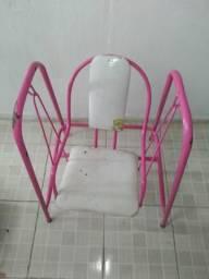 Usado, Duas cadeiras de balanço criança princesa comprar usado  Olinda
