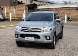 Hilux SRV 2017 diesel, na garantia - 2017