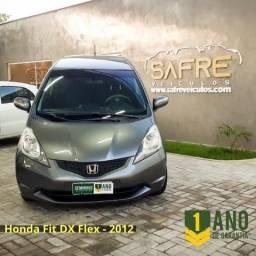 Honda Fit DX 2012 - com 1 ano de garantia - 2012