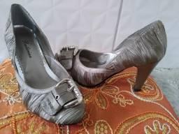 Sapato social feminino Bege
