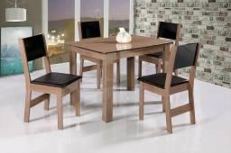 Mesa Milena com 04 Cadeiras - Nota Fiscal - Frete Grátis