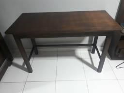 Mesa nova de madeira 130x60