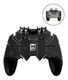 Gamepad Analogico 4 Botões L1 R1 Gatilho Mira Tiro Celular