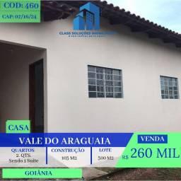 Casa De 2 Quartos - Residencial Vale do Araguaia - Goiânia: Go