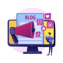 Criação de Blog - 49,00 Preço válido apenas HOJE