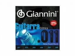 Cordas guitarra Giannini 011