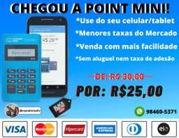 Maquininha de Cartão Point-Mini