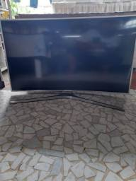 Smart TV Samsung de 49 polegadas curva 4K