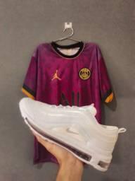 Camisa de time + tênis airmax 97
