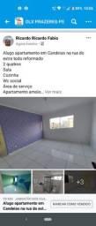 Alugo apartamento em Candeias na rua do extra todo reformado