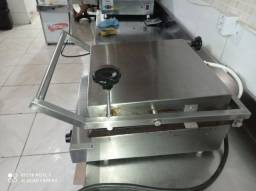 Chapa elétrica industrial multi gril