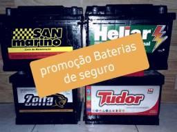 Baterias de seguro. baterias de 60. baterias de 48. todos tipos de bateria. automotivas