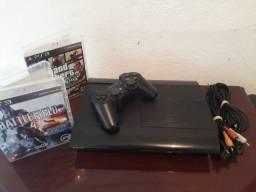 Playstation 3 250gb Desblo_queado com mais de 1000 jo_gos pra baixar
