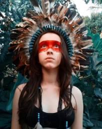Cocar indígena / fantasia