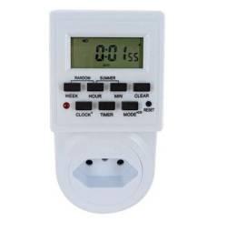 Timer Digital E Temporizador Bivolt - 10a