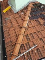 Conserto de telhado e manta impermeabilizacao