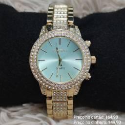 Relógio feminino original Contena luxo lindíssimo