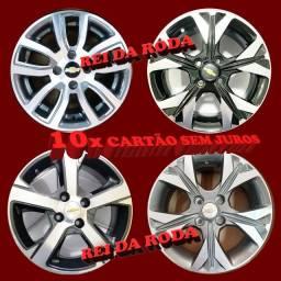 Jogo de Rodas ARO14- Modelos Variados - GM - Onix