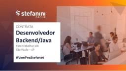 Desenvolvedor backend / Java