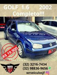 Golf 1.6 2002 *Completo